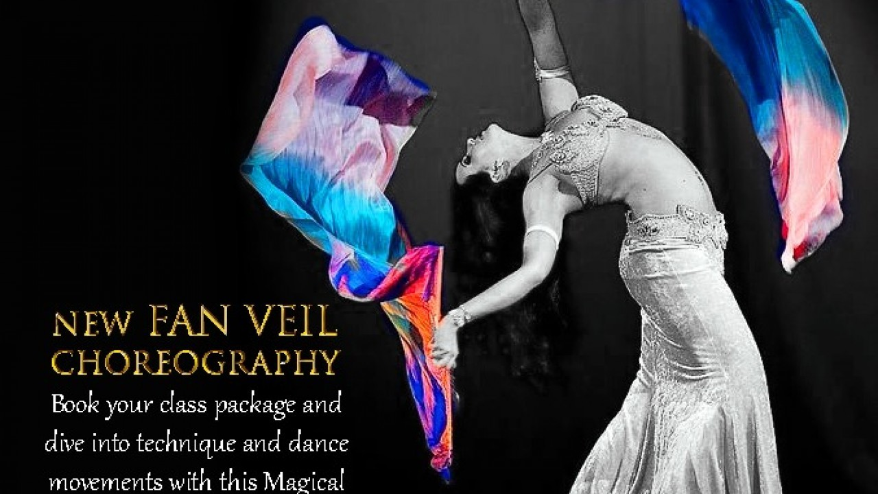 New Fan Veil Classes- technique and choreography