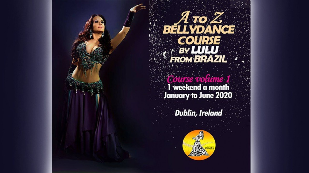 A TO Z BELLY DANCE COURSE BY LULU FROM BRAZIL